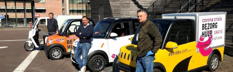 E-SI Rides biedt gratis bezorgservice in Leeuwarden
