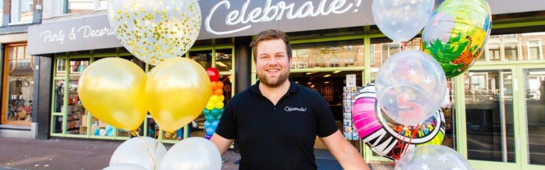 Laat speciale ballonnen bezorgen in Friesland door Celebrate