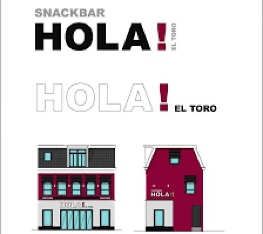 Snackbar Hola