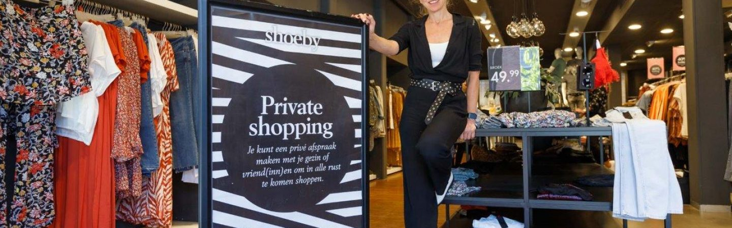 Nu bij Shoeby: private shopping en metamorfose op afstand