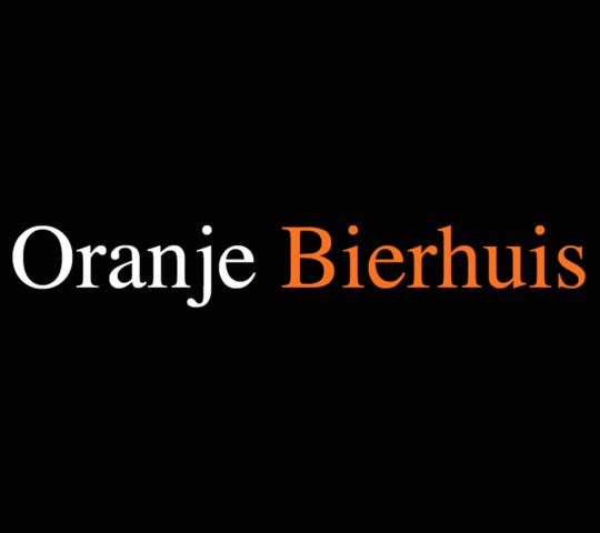 Oranje Bierhuis