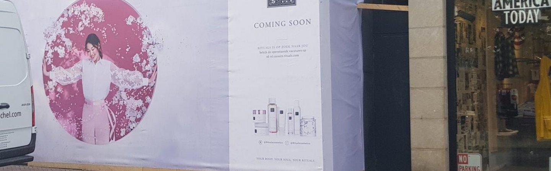Rituals opent nieuwe winkel in voormalig pand H&M