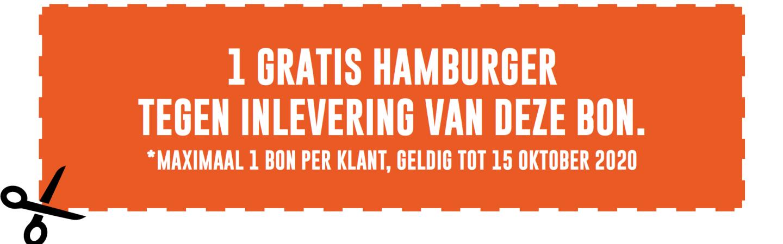 Ontvang een gratis hamburger bij Slagerij Vrede
