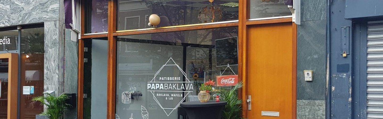 Baklava, wafels en ijs: je vindt het bij Papa Baklava