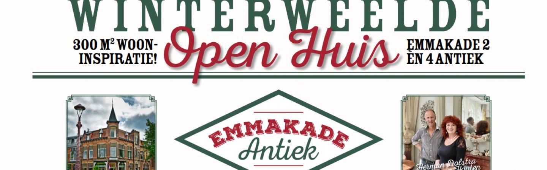 Open huis bij Emmakade Antiek: 300 m² wooninspiratie