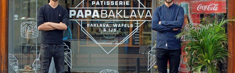 Het nagerechtenwalhalla van je dromen vind je bij Papa Baklava