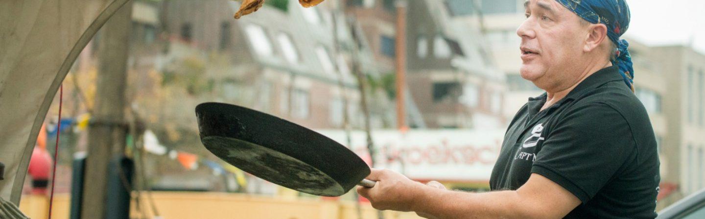 Ga aan boord met de heerlijke pancakes van 't Pannekoekschip
