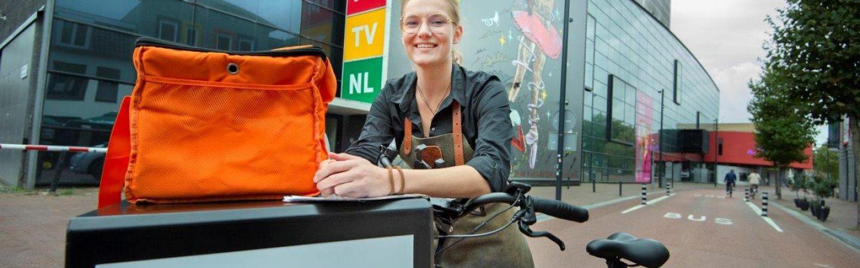 Thuisbezorgd ook gestart met eigen fietsbezorgers