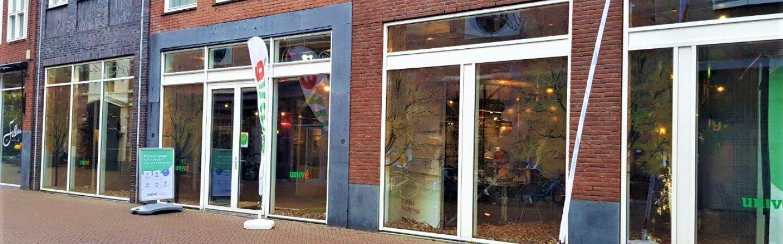 Welkom in de binnenstad: Univé Leeuwarden