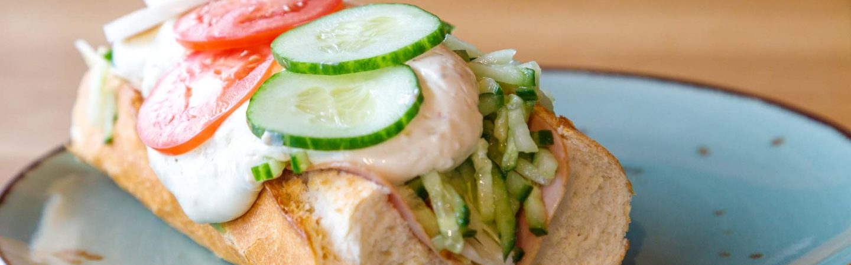Haal lekkere, verse broodjes bij Lunchroom Haagens!