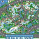 Speciale Sinterklaastunnel door Blokhuispoort in november