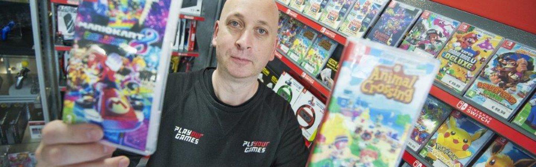 PLAYOURGAMES: Een winkel vol merchandise